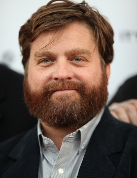 Zach Galifianakis as the Happy Medium